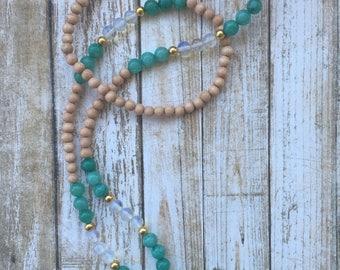 Mala Inspired Aromatherapy Necklace