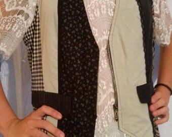 Vest pattern mix