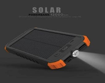 Portable External Phone Charger for Outdoor Use with USB Bracelet Charger