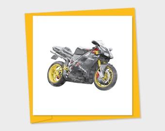 Ducati 916 senna – grey and yellow