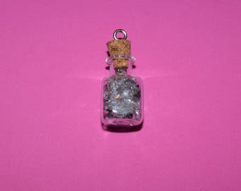 crystal beads in a bottle