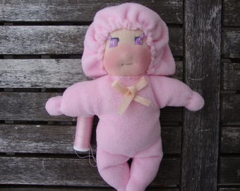 Pink inspired Waldorf doll