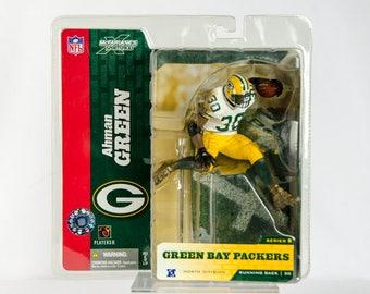 McFarlane's Sportspicks Series 8 Ahman Green Action Figure Green Bay Packers