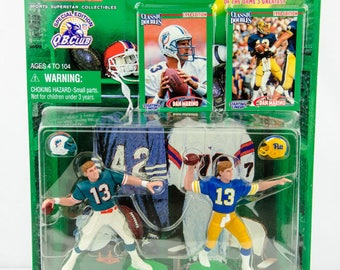 Starting Lineup Classic Doubles NFL Dan Marino Dolphins & Pitt Action Figure