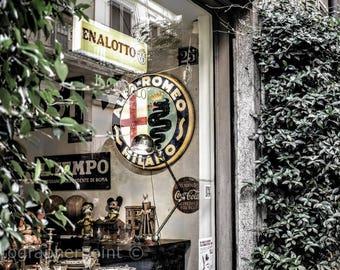 Italy Photography,Street Photography,Wall Decor,Canvas Wall Art,Art Decor Gift,Office Gift,Art Photography,Wall Office Decor,Print On Canvas