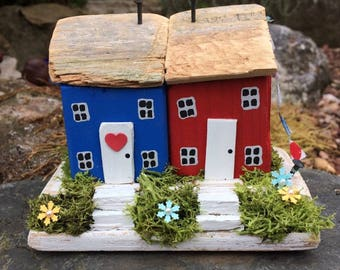 Handmade,Cottages,Houses,Collectable,Miniature,Gift,Art.
