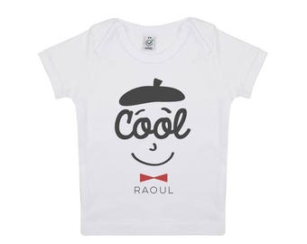 Tshirt bébé Cool Raoul en coton biologique