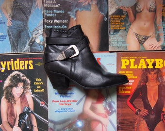 DINGO Leather Ankle boots 6.5 US