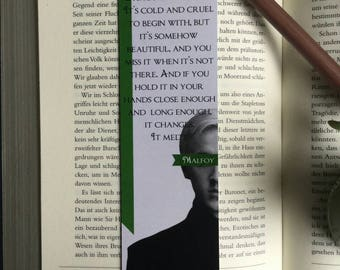 Harry Potter Bookmark Draco Malfoy