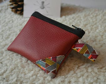 Wallet leather papyrus