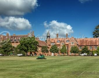 Abingdon School, Abingdon Print, Abingdon Wall Art, Abingdon, Oxfordshire, Travel Photography, Architecture