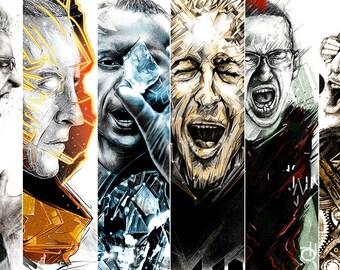 Linkin Park Chester Bennington Print 11x17