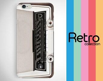 Retro iPhone case, Radio iPhone 6 retro phone case, Vintage old radio iPhone 7 case, Galaxy S8 radio retro case, iPhone 6S old radio case