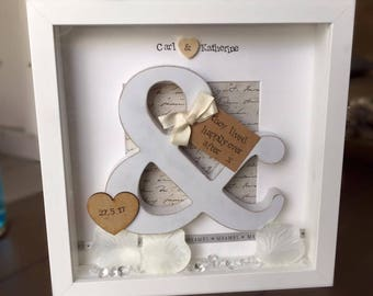 Handmade Wedding Frame