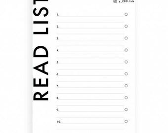 Mood Board - read list (set of 5)