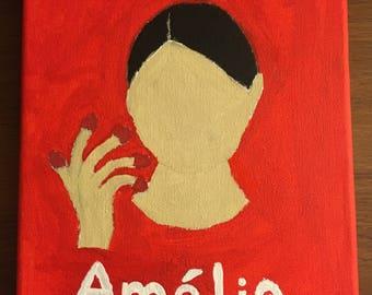 Amélie playbill painting