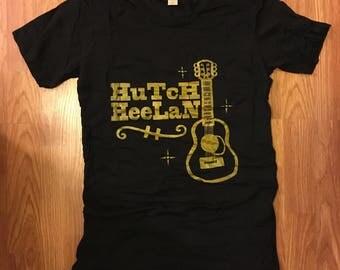 LADIES L T-SHIRT Hutch Heelan Guitar