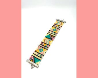 Bracelet miyukibeads inspiration ethnique