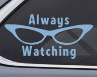 Monster Car Decal Etsy - Disney custom vinyl decals for car