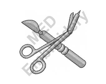 Tools - Machine Embroidery Design, Surgeon Tools