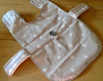 waterproof, fleece lined dog coat