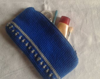 multi-use crochet pouch case