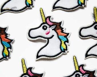 Unicorn Rainbow Patch - Unicorn Gifts - Unicorns Patches - Cute Patch - Iron on Unicorn Patch - Bright Patches - Horse Patch - Sew On