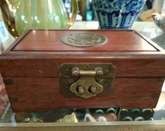 Chinese 1950s jewelry box