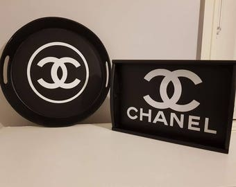 Decor tray inspired by chanel but in no way is orginal chanel. You dont get a second chance to make a first impression
