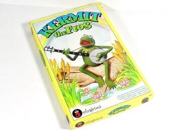 Colorforms Kermit the Frog 1980 Muppets 1980s Games - Original Box Excellent Condition Colorforms 643