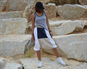 Harem pants, Drop Crotch pants, Baggy pants, Boho pants, men, women, handmade item