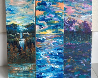 12x4 Nature Paintings