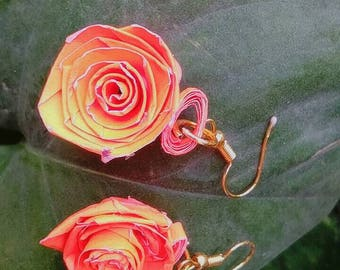 Rose earring