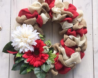 Canada Day Wreath