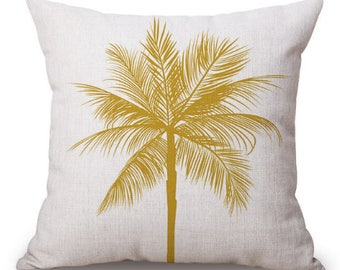 Palm Tree Cushion Cover