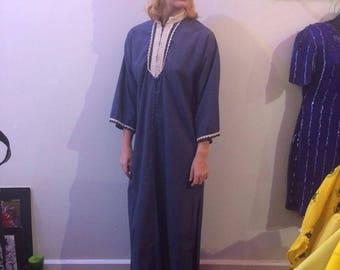 Vintage 60s Handmade Unisex Robe