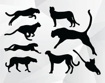 Panther svg,png,jpg,eps/Panther clipart for Design,Silhouette,Cricut