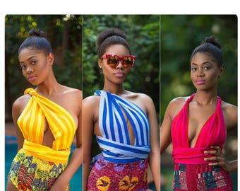 Afrik print style swimsuit