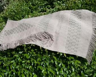 Handwoven 100% linen tablecloth