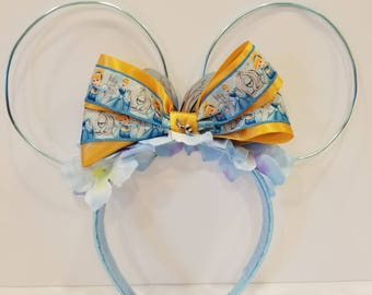 Cinderella Inspired Princess Ears!