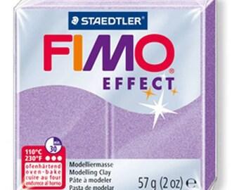 Pâte Fimo 57 g Effect Lilas perle (nacré) 8020.607 - Fimo