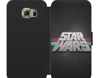 Star wars design flip wallet phone case for iphone 4 5 6 7 Samsung s2 s3 s4 s5 s6 s7 plus more