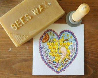 Placenta Bee Art