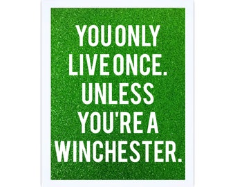 Winchester YOLO Sign