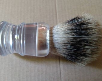 23mm silvertip badger brush