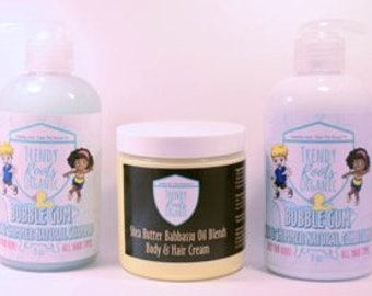 Trendy Roots Organic Children's Shampoo, Conditioner & Shea Butter