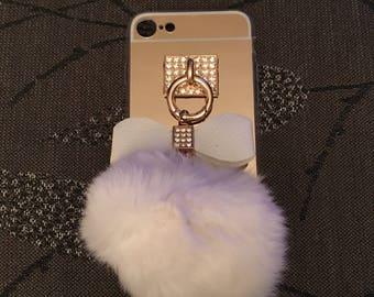 Luxury white iPhone 7 case