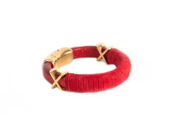 xSuede Genuine Leather Bracelet