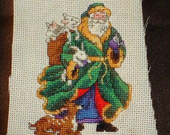 Father Christmas (green robe)