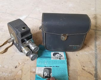Keystone 8 electric eye camera- Vintage